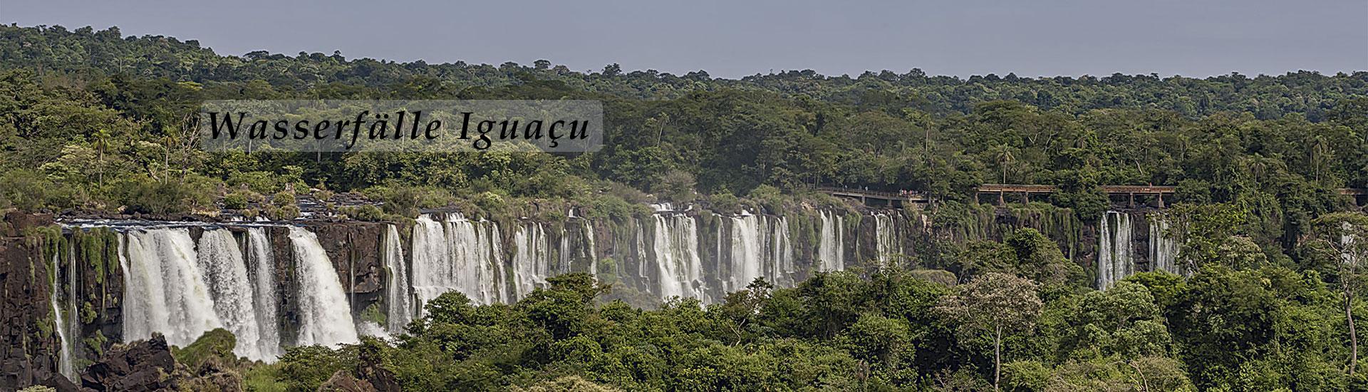 Wasserfälle Brasilien